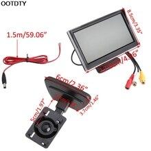 OOTDTY 5 font b Car b font Monitor TFT LCD Screen HD Digital font b Car