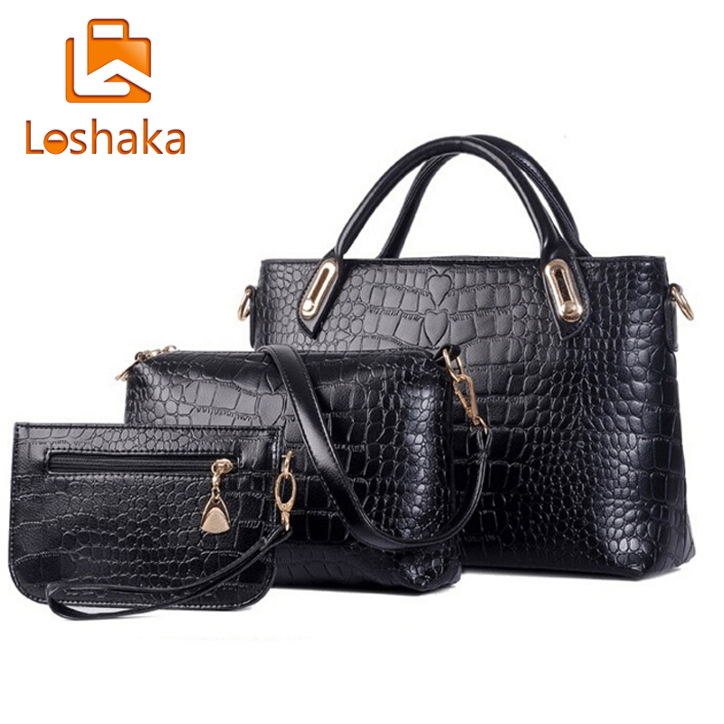 New Brand Composite Bag Women Handbags PU Leather Messenger Bags Design Hot Styl