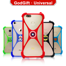Fly Nimbus 14 FS456 case Soft Cartoon case for Fly Nimbus 15 FS457 case Universal TPU Super Heros Fly Nimbus 16 FS459 case cover