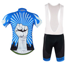 Ropa Ciclismo Cycling Clothing Rock Racing Bicycle Clothes Set 2016 Man's GEL Breathabkle Cycling Jerseys MTB Bike Clothing Plus