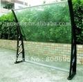 YP 80120-ALU 80x120cm 31.5x47in prefab diy structure aluminium bracket frame roof plastic board cover shade entrance door canopy