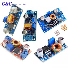 цена на 5A DC-DC Step-Down Buck XL4015 Adjustable Power Supply Module DC Step Down Voltage Regulator Board LED Driver 4-38V