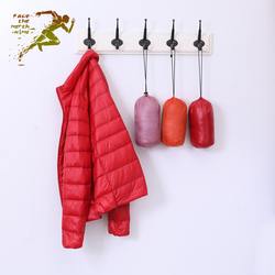 Light thin Down Jackets Women style with Cap short size accounts Large code Woman's coat Repair the body Keep warm sports girl