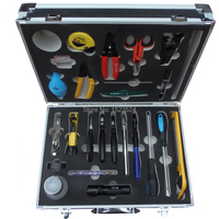 25 in 1 Fiber Optic FTTH Tool Kit with Pilers ,CFS 2 Fiber Optic Stripper ,Cable stripper ,Screwdrivers , Kevlar Scissor