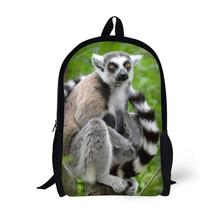 Forst Animal emur Printing Backpack Children School Bags For Teenager Boys Girls 17 Inch Backpacks Laptop Backpack Mochila Bag star universe printing backpack bag children school bags for teenager boys girls backpacks laptop backpack