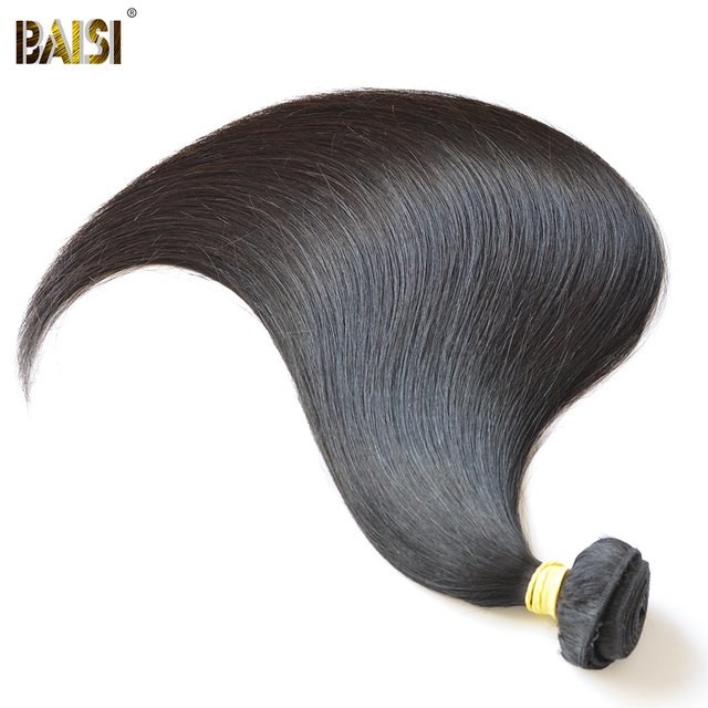 Baisi Company Peruvian hair , virgin straight weave , color 1b, 2pcs/lot , hair extension 8 to 30 inches available