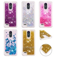 LUCKBUY Quicksand Glitter Star Flowing Water Liquid Case For LG K4 K7 K8 K10 Luxury TPU Cover Phone V20 V30 tpu