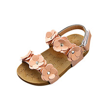 ARLONEET Bayi Sandal Musim Panas Anak-anak Perempuan Sandal Bunga Sandal Pantai Sepatu Kasual Untuk Anak-anak 0 sampai 6 Tahun Drop Pengiriman 30S54