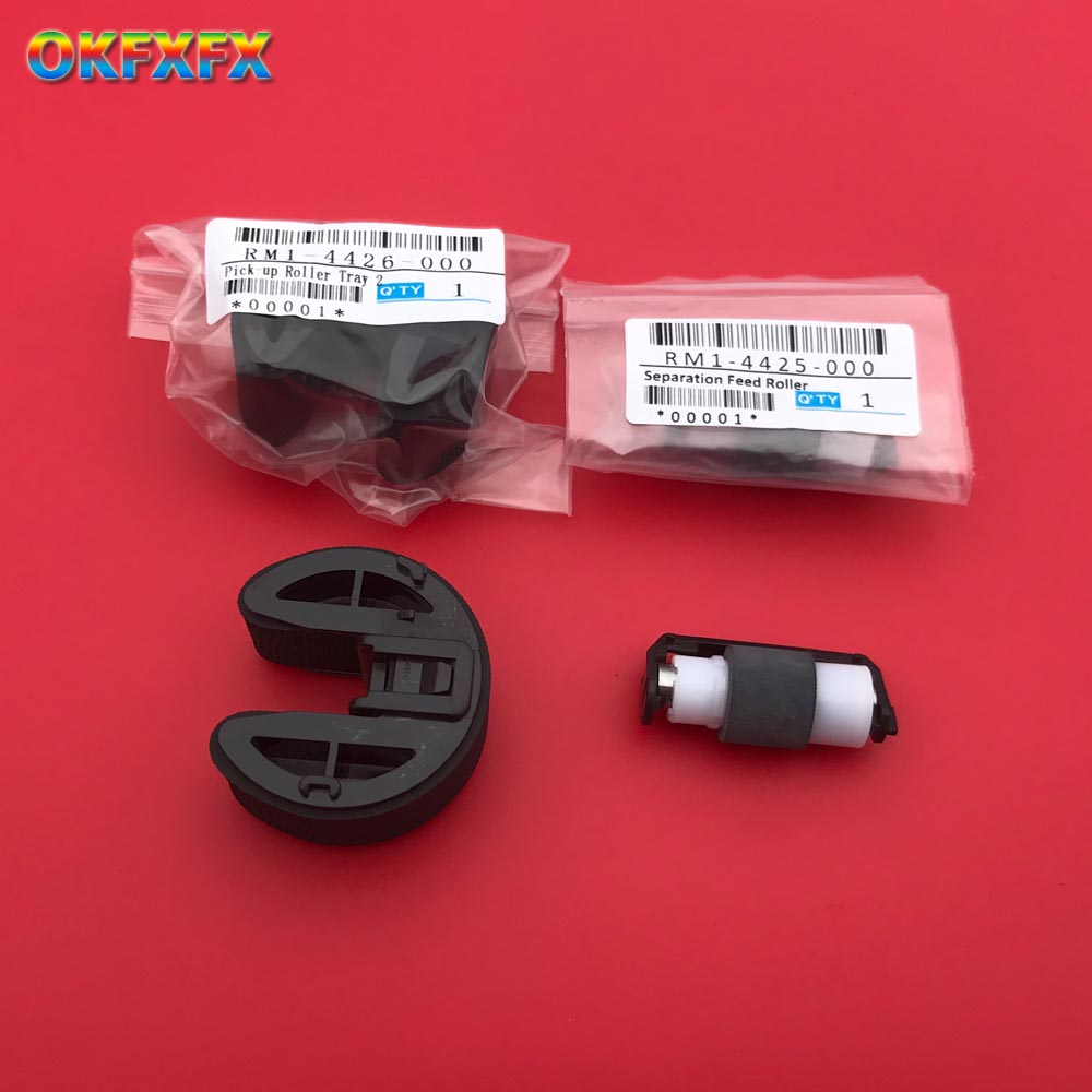 1X CC430-67901 RM1-4425 RM1-8765 RM1-4426 Pickup Roller For HP CM1312 CP1215 CP1515 CP1518 CM1415 CP1525 CP2025 CM2320 M251 M351