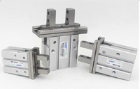 MHZ2 40D parallel finger cylinder manipulator SMC type pneumatic finger cylinder