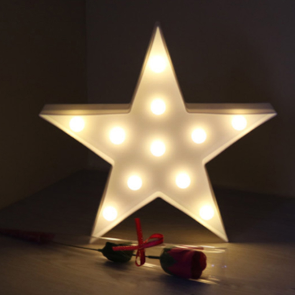 ECOG LED Wall Light Moon Star Cloud Night Light for Home Decor Kids ...
