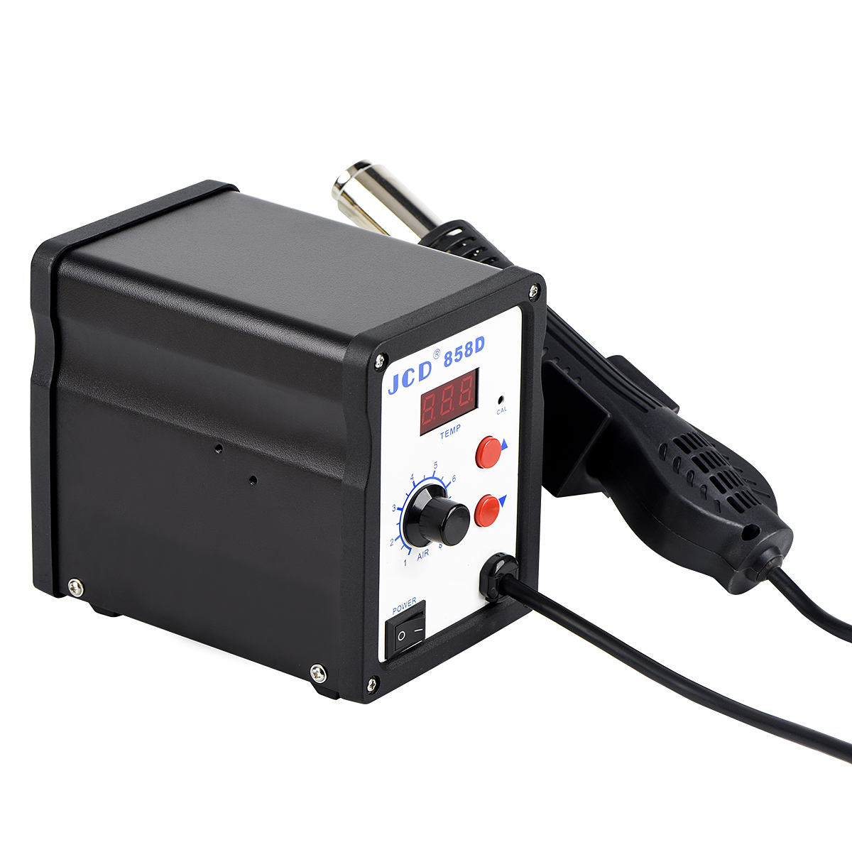 Top SaleJCD Repair-Tool Heat-Gun Rework Soldering-Station-700w Welding 110V 858D Digital LED