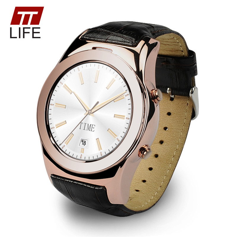 TTLIFE Heart Rate Monitor Bluetooth Smart Watch Mp3/Mp4  Waterproof MTK2502C Sim Watches Smart Wrisatwatch For IOS Android LW01