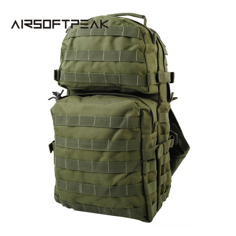 600D Nylon Molle Assault Backpack With Padded Waist Belt for Men Army Airsoft Tactical Military Hunting Backpack Bag molle tool messenger bag design hiking military tactical assault crossbody shoulder backpack with adjustable belt men pouch