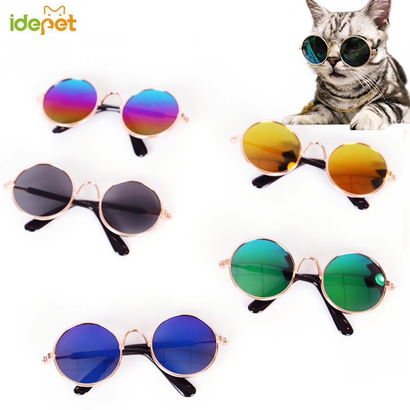 1pc Lovely Pet Cat Glasses Protection Dog Glasses Pet Products For Small Dog Kitty Cat Eye-wear Dog Sunglasses Pet Supplies 30