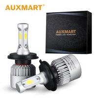 H4 Cob LED Headlight DC 12V 24V Hi Lo Beam Car Light Bulb Auto Headlamp 6500k