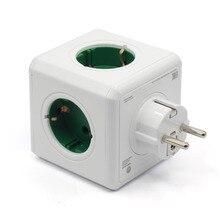 Allocacoc зарядная станция оригинальный мощность Cube разъем ЕС Plug 5 розетки Adapter-16A 250 В в Cube