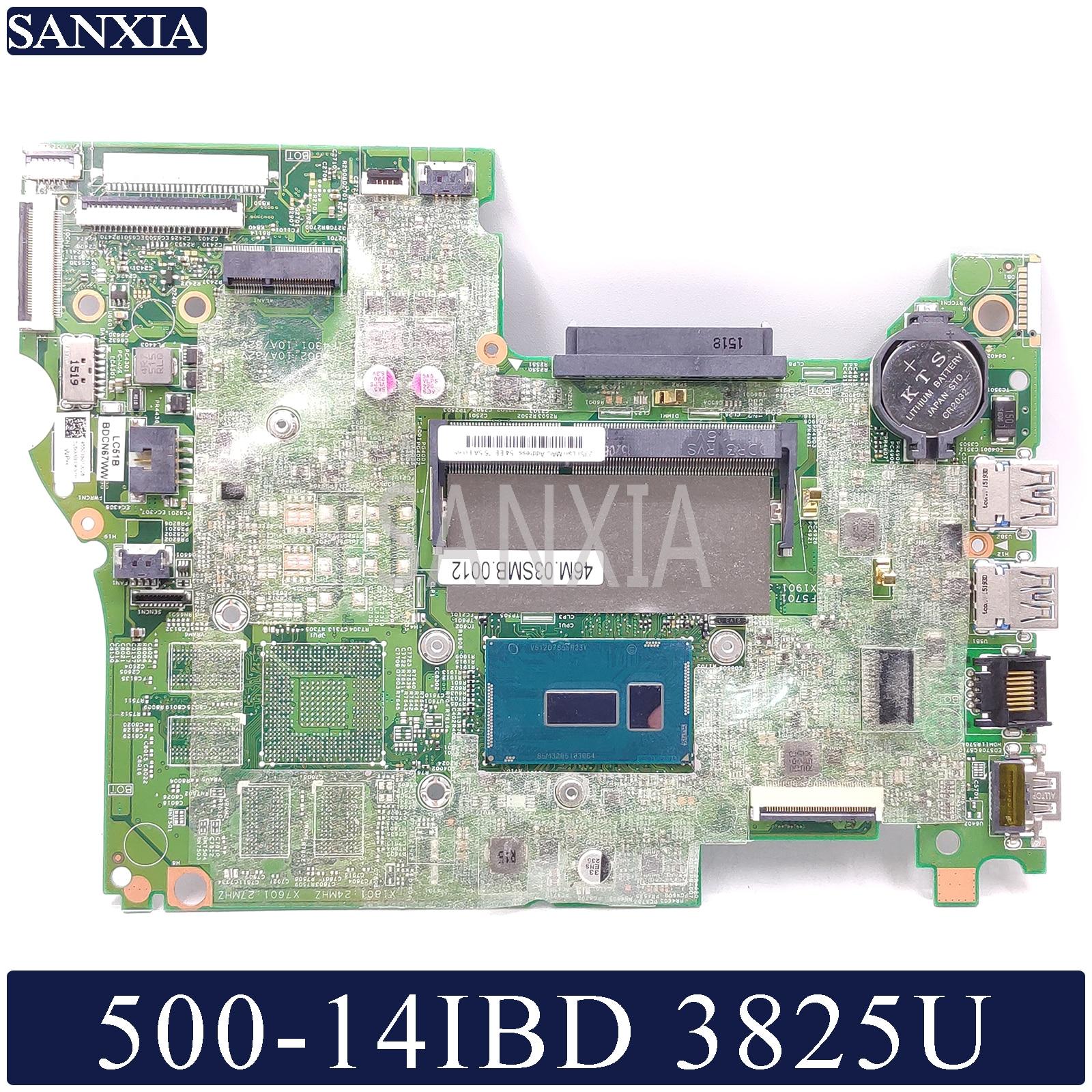 KEFU 14217-1M Laotop Motherboard For Lenovo YOGA 500-14IBD Test Original Mainboard 3825U-CPU