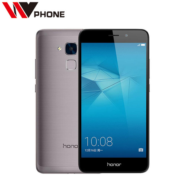 """WV Оригинальный Huawei Honor 5C 4 Г FDD Мобильного Телефона 2 Г Ram 16 г ROM Кирин 650 Окта основные 5.2 """"FHD 1080 P 13.0MP"""