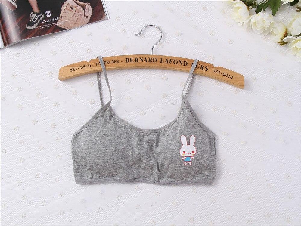 Bras 8-14y Girls Underwear For Girl Children Girl Cotton Teenage Bra Vest Kids Underclothes Casual Undies Kids Girls Undi