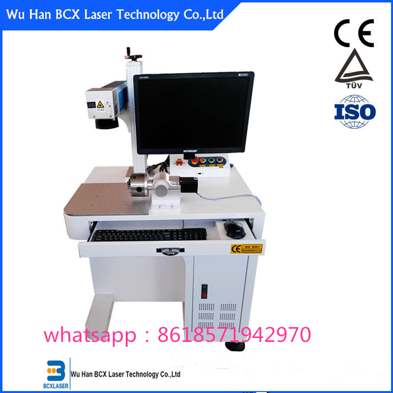 laser marking machine for electronic components with Ezcard Control Software Raycus