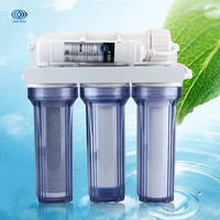 5 Stage Household Drinking Water Filter Reverse Osmosis System Taps Valves Hoses Remove Rust Sediment Bacteria