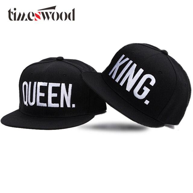 6a008193015e8 ... new zealand 2018 new king queen letter hip hop hat lovers baseball cap  women mens snapback