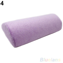HotHot Sale Half Hand Cushion Rest Pillow Nail Art Design Manicure Care Salon Soft Column 02YC