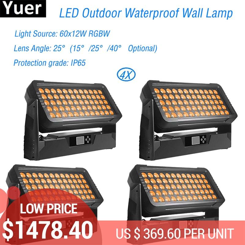 4Pcs Lot 600W LED Outdoor Waterproof Wall Lamp IP65 LED Par Lights Modern LED Decorative Wash