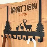 Door Hanging Hook Hanging Wall Door Hanging Hanger Wall Seamless Adhesive Sticky Hook Strong