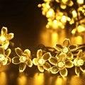 La Energía Solar 20 LED Solar Luces de Jardín Decoración de Hadas de Luz Party Garland Solaire luz Exterior Impermeable Luz Al Aire Libre
