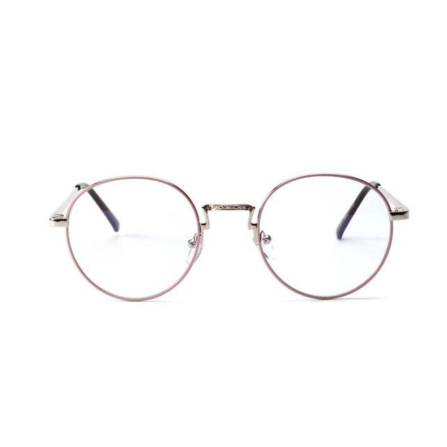 Neues Rund Brille Herren Brillengestell Retro Schwarz Frauen Brillengestell GBrBaKH