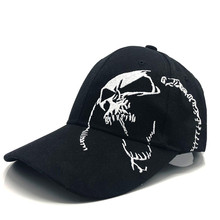 High Quality Unisex Cotton Outdoor Baseball Cap Skull Embroidery Snapback Fashion Sports Hats For Men Women