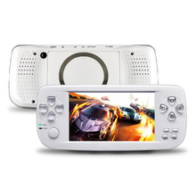 лучшая цена New 64 Bit 4.3 Inch Built-in 3000 Games PAP K3 For CP1/CP2/GBA/FC/NEO/GEO Format Games Portable HD Handheld Video Game Console