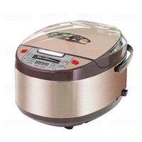 Керамика риса электрическая плита риса плита Керамика горшок smartpot обед теплее бытовая техника для кухня 5L Суп Контейнер