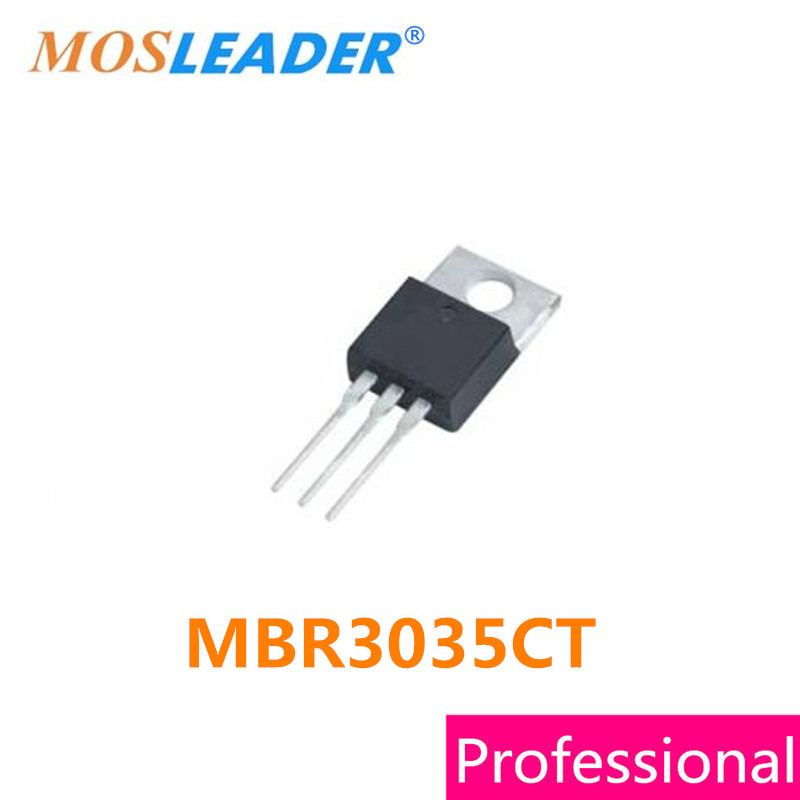 Mosleader MBR3035CT TO220 50PCS DIP MBR3035 High quality