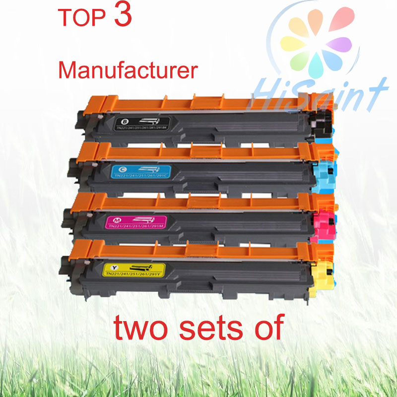Подробнее о The price of two sets of Compatible Color Toner Cartridge for Brother TN221 / TN241/ TN251/ TN261/ TN281/ TN291 for MFC9130/9140 compatible color toner cartridge for brother tn221 tn241 tn251 tn261 tn281 tn291 for mfc9130 9140cdn mfc9330 9340cdw