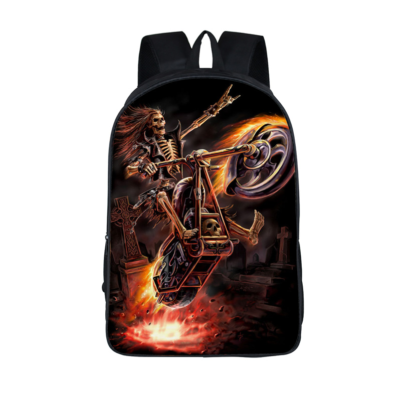 Harley Motorcycle And Eagle / Motorhead Backpack Men Boys Bag Students School Bags Street Rock Skull Backpacks For Teenage point systems migration policy and international students flow