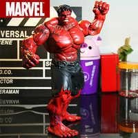 "Rot Superheld Hulk Action-figur Der Avengers Marvel PVC Action-figuren Zum Sammeln Modell Spielzeug 10 ""26 cm"