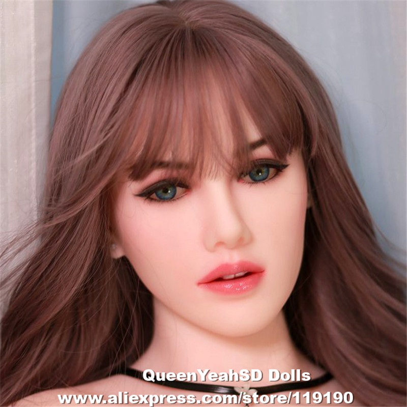 NEW TPE Sex Doll Head For 135-175cm Silicone Love Doll Heads with Real Oral Sexy Dolls Mannequins Sex ToysNEW TPE Sex Doll Head For 135-175cm Silicone Love Doll Heads with Real Oral Sexy Dolls Mannequins Sex Toys