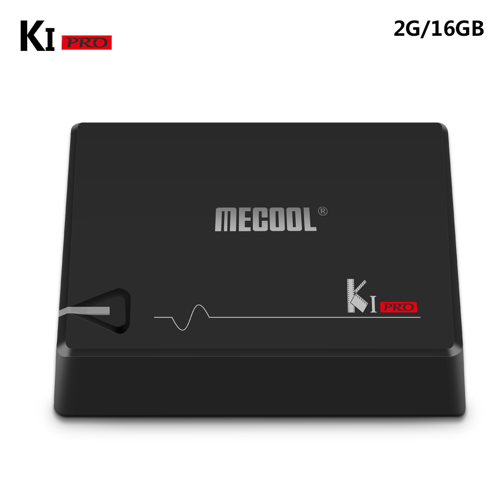 NEW! MECOOL KI PRO DVB Amlogic S905D Quad Support Set Top Android TV Box