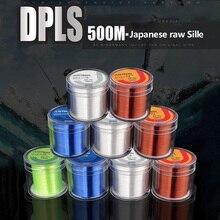 Fish Daiwa Nylon 500M 2-35LB Monofilament Line Japan Material Fishline for Carp accessories spearfishing fluorocarbon Fishing