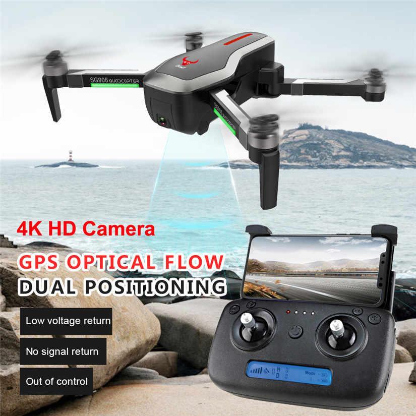 Quadcopter gps 5g wifi fpv com 4 k ultra claro câmera dobrável gps/fluxo óptico que posiciona o zangão do pairo rc 90703