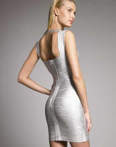 ad25af64a1b7 ... Club Party Foil Gold Bandage Dress New Summer Sexy Gold Silver  Sleeveless Halter HL Stretch Mini