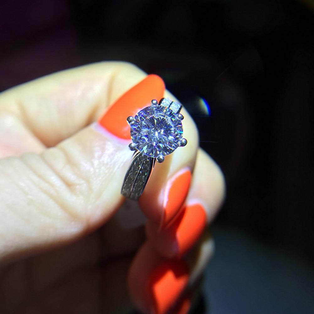 Geld verlieren Förderung 100% 925 Sterling Silber Ringe Schmuck - Modeschmuck - Foto 2