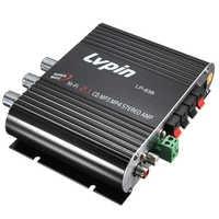 CES pour LVPIN 12V 200W Mini amplificateur stéréo Hi-Fi MP3 autoradio canaux 2 maison Super basse