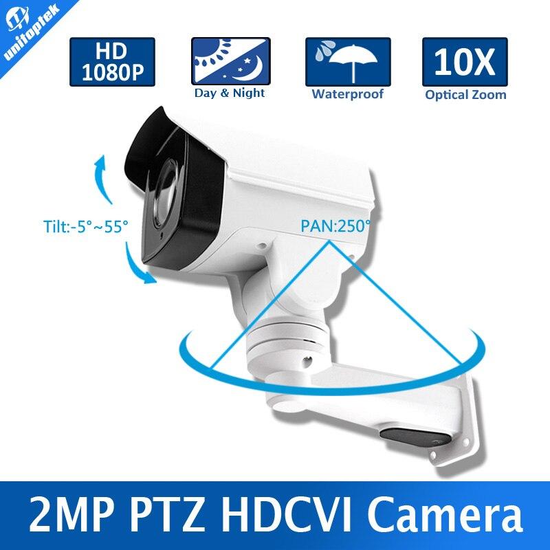 bilder für Neue Modell 1/3 322 Sensor + 2431 H 2,0 Megapixel 10X Optischer Zoom Pan/Tilt Rotation IR 80 mt Sicherheit HD 1080 p Mini PTZ HD CVI Kamera