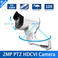 Novo modelo 1/3 322 sensor + 2431 h 2.0 megapixel zoom óptico 10x zoom pan/tilt rotação IR 80 m Segurança HD 1080 p Mini Câmera PTZ HD CVI