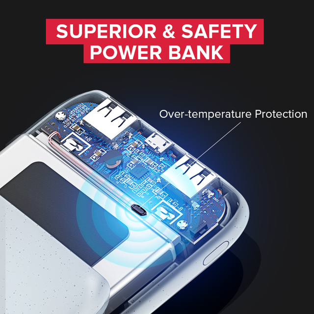 10000 mAh Ultra Slim Power Bank