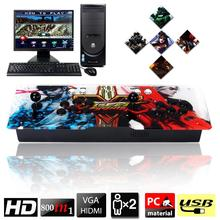 Plug and Play 800 In 1 Arcade Video Games Console Dual Players Joystick Button Home Arcade Joystick Double Stick Arcade Console